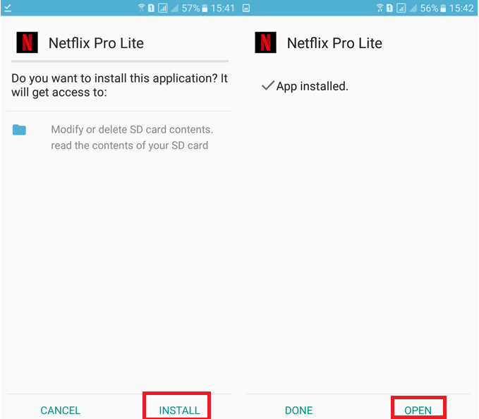 Netflix Mod Apk Latest Version Download Process