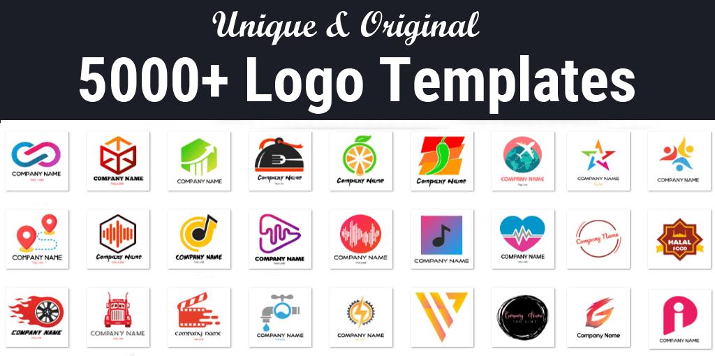 5000+ Logo Templates