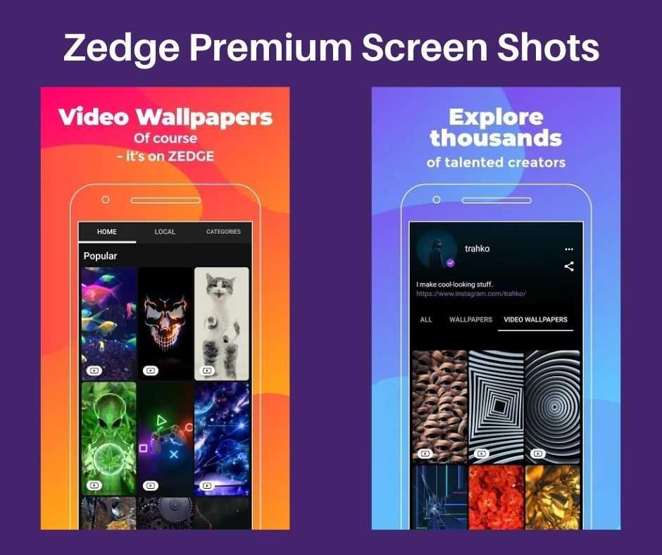 Zedge Video Wallpapers